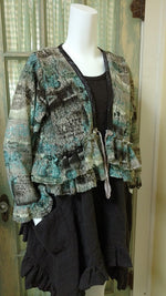 Ruffle Jacket French Lace, USA
