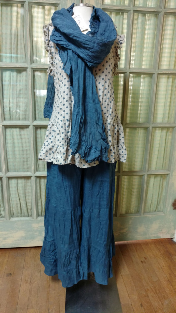 Gatsby Scarf Winter Blue, HD-028 WB