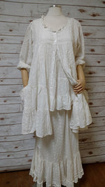 Lydia Cami White Cotton Eyelet, HD-001 W EYE