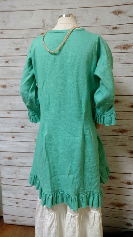 Tea Dress in Linen, USA