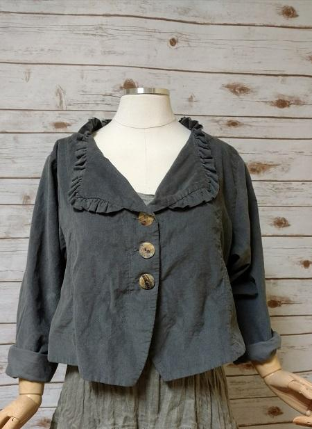 Ellie Jacket in Corduroy, USA