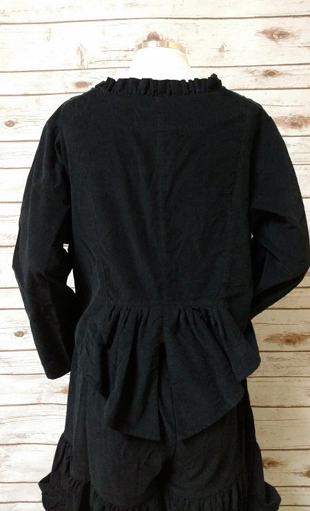 Ellie Jacket Black Corduroy, USA