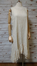 Nicole Slip in Tea Stained Linen, USA