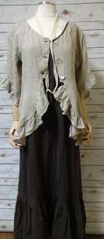 Kelly Jacket in Linen, HD-012