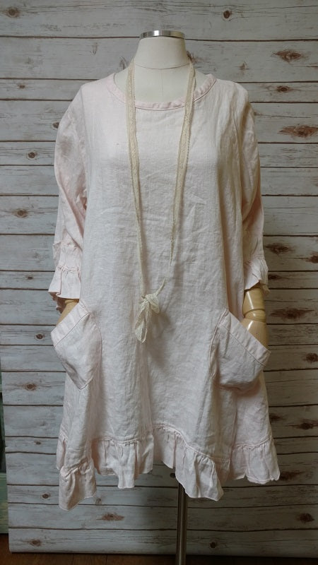 CoCo Dress in Linen, USA
