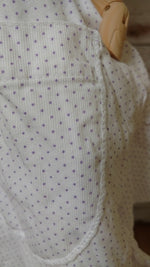 Butterfly Top Dot Pique Cotton, USA