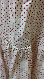Fairy Half Slip in Cotton Dot, USA