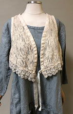 Tiny Vest Cotton Lace