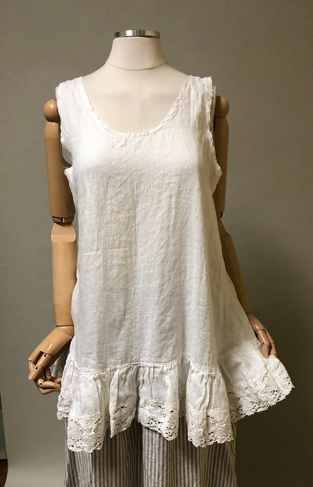 Romantic Cami Lace Trim