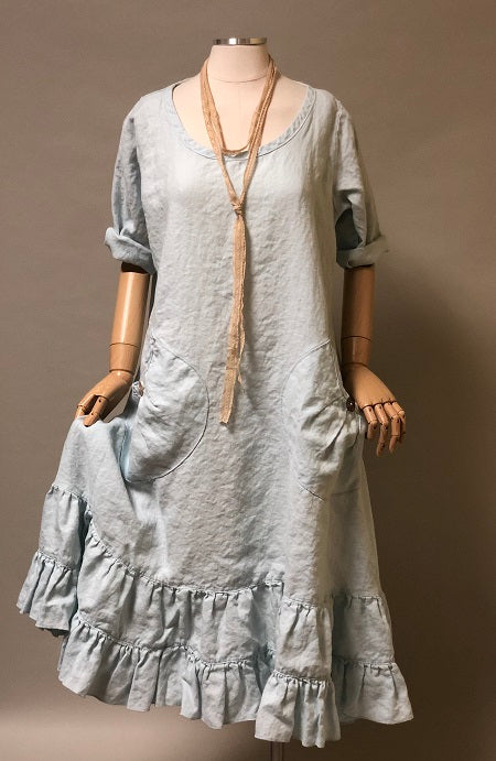 Prairie Dress in Linen