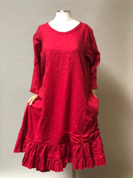 Babette's Dress Long Sleeve Linen