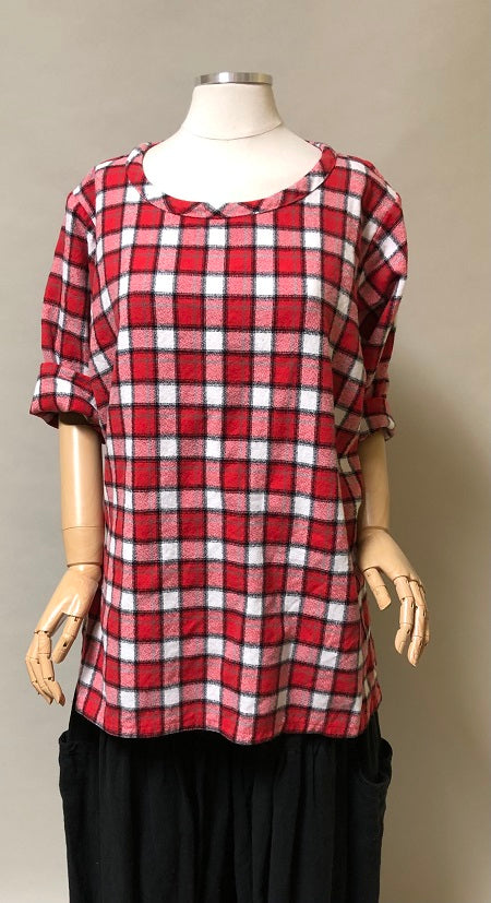 Easy Tunic Cotton Flannel