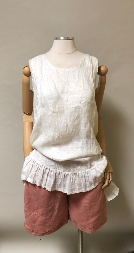 Baby Jane Cami Top Linen