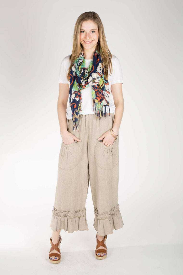 Bo Peep Pant in Linen, USA