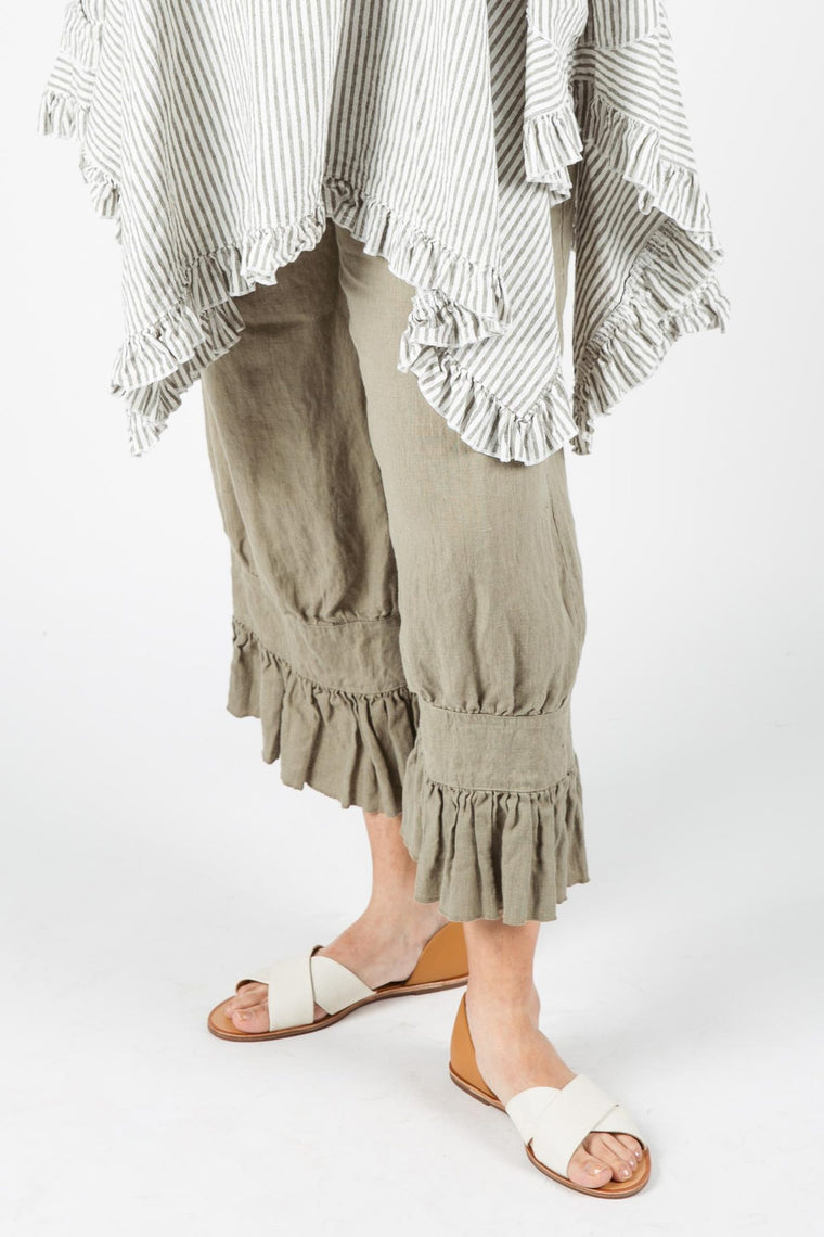 Janis Bloomer Crop in Linen, USA