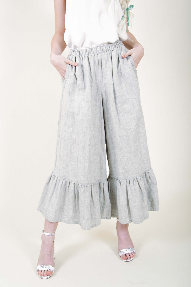 Boutique Wide Leg Linen Pants from Heart's Desire Clothing