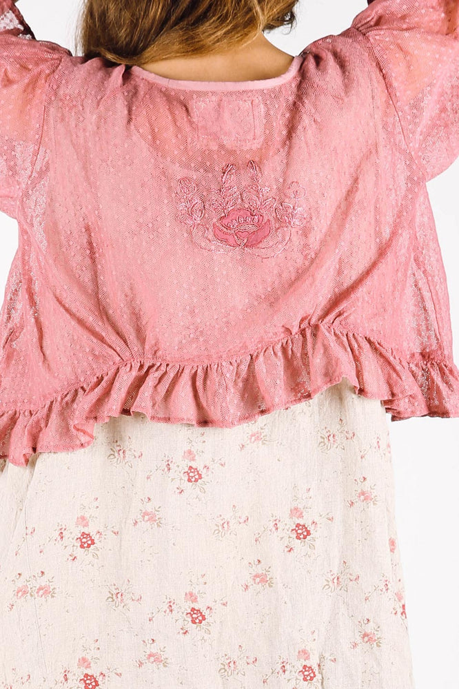 Karine Jacket Rose Cotton Net, HD-024 RCN