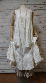 Tessa Slip Dress in Linen, USA