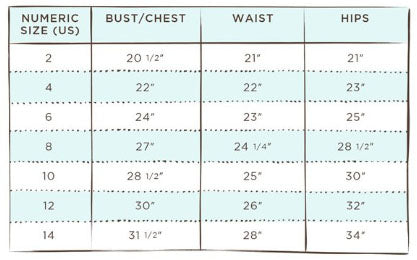 Size Chart For Old Navy Girls The Future