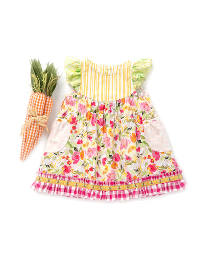 May Flowers Flutter Dress