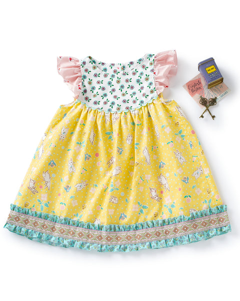 Spring Day Flutter Dress