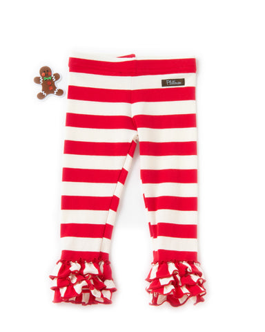 Candy Cane Cutie Knit Leggings