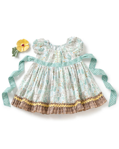 Neverland Adventure Peasant Dress