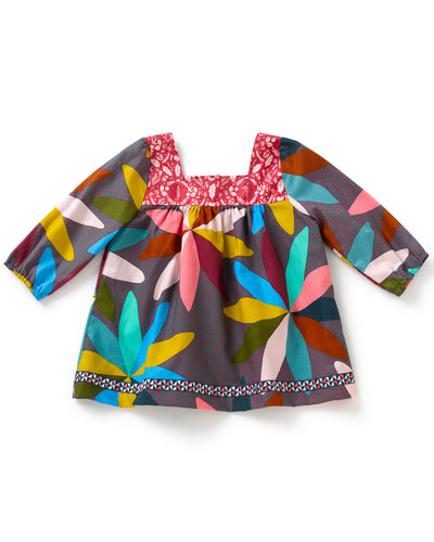 Flower Power Long Sleeve Shabby Top