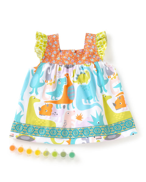 Dynamic Dino Shabby Top