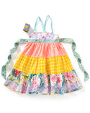 Among The Flowers Tiered Ellie Dress