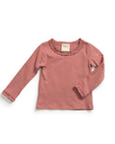 Mauve Long Sleeve Tee