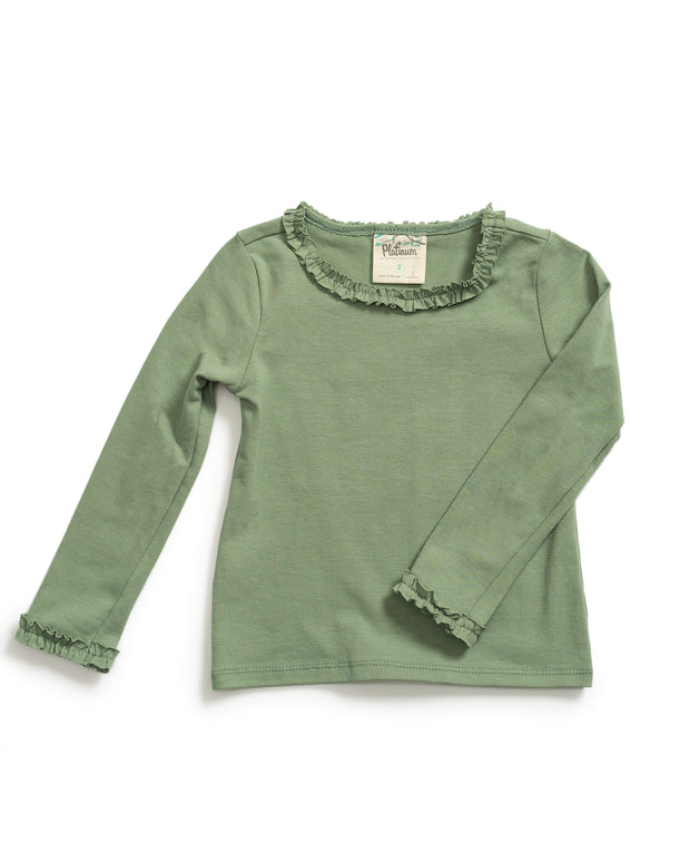 Sage Long Sleeve Tee