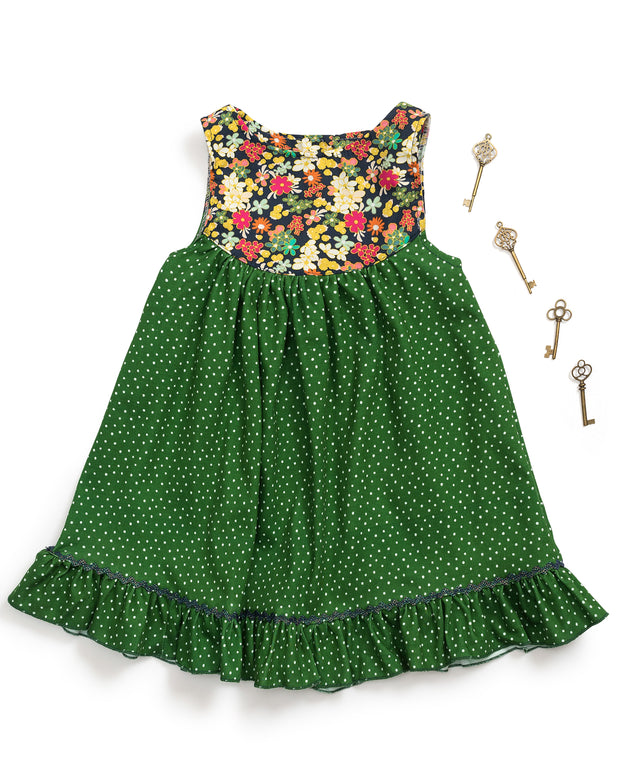 Shamrock Yoke Dress