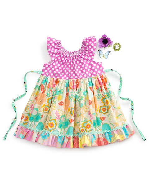 Candy Fluttered Dress