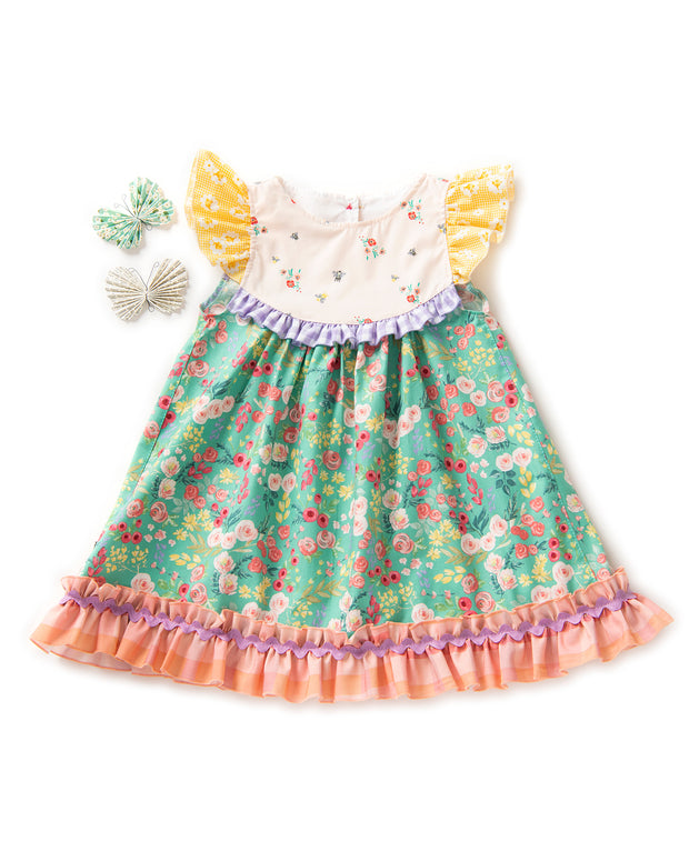 Honey Bee Flutter Dress