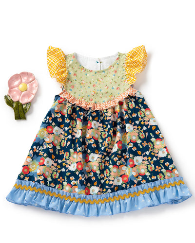 Okie Dokie Flutter Dress