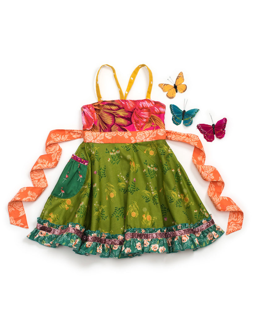 Green Thumb Ellie Roundabout Dress
