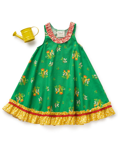 Happy Go Lucky Tulip Dress