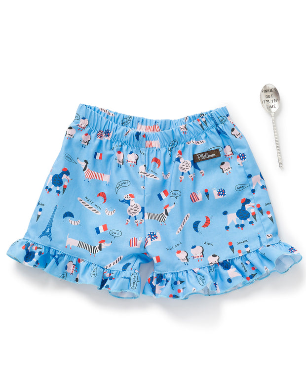 French Ruffle Shorties