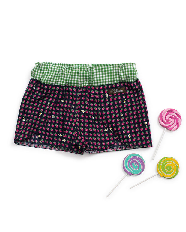 Berry Picking Woven Shorties