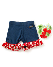 Yankee Doodle Knit Shorties