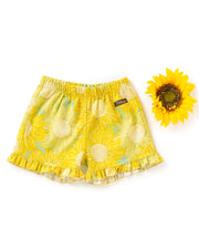 Sunflower Seeds Ruffle Shorties
