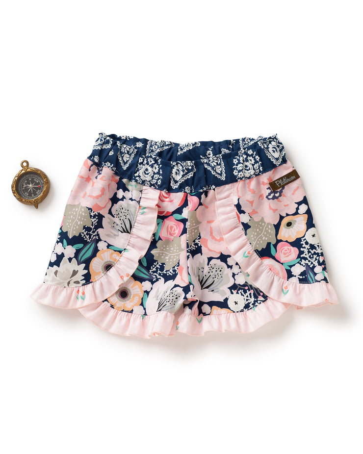 Curious Girl Woven Shorties