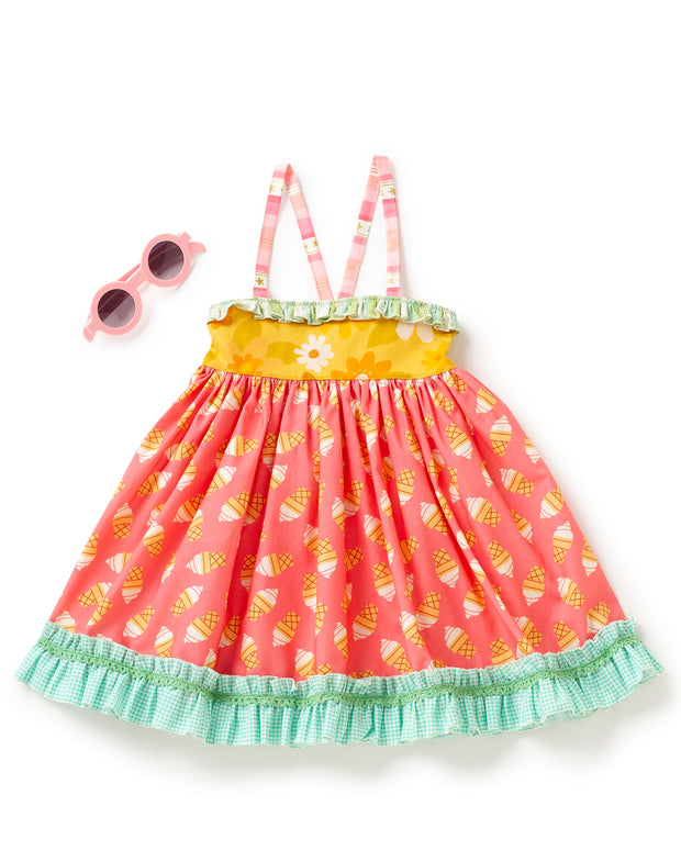 Vanilla Cone Ellie Dress