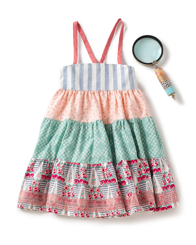 Country Side Tiered Ellie Dress