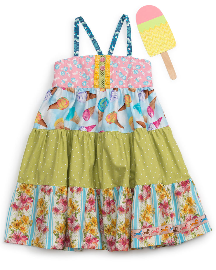 Sundae Fundae Tiered Ellie Dress