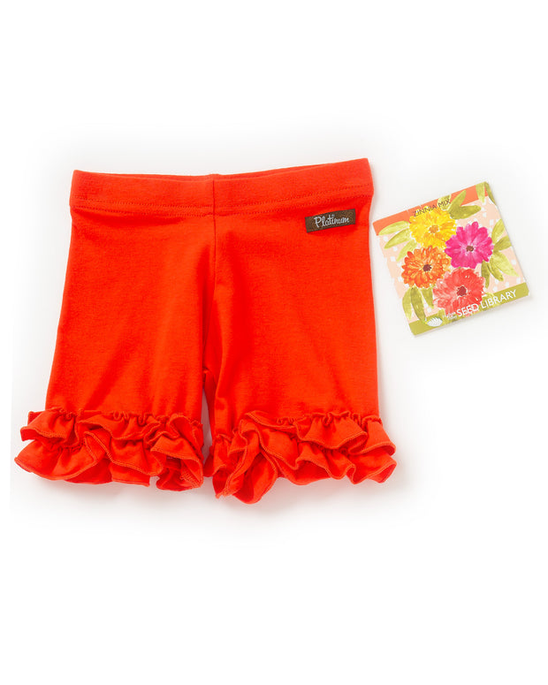 Apricot Knit Shorties