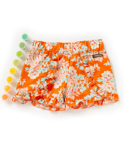 Orange Crush Woven Shorties