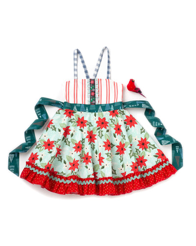 Poinsettia Ellie Roundabout Dress