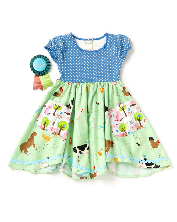 A Day At The Farm Dress